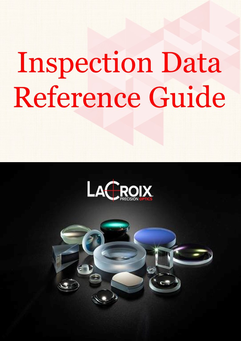 Inspection Data, optical metrology